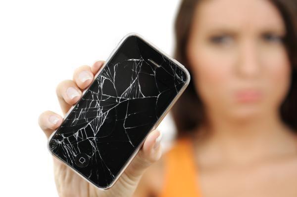 Regeneração da tela de smartphones