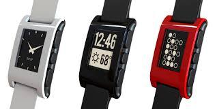 Relógios inteligentes da Pebble