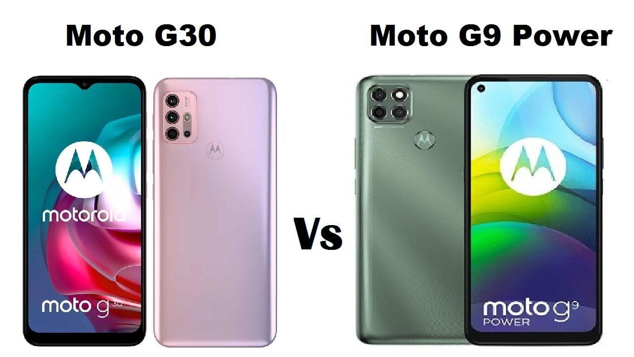 Moto G9 Power e Moto G30